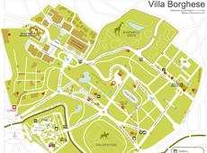 Plano de Villa Borghese