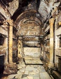 Catacumbas de San Calixto - Cripta de los Papas