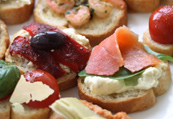 Antipasti - crostini