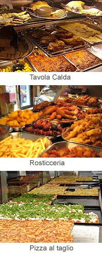 Roma restaurante trattoria tavola calda osteria pizza al taglio - Un locale con tavola calda ...